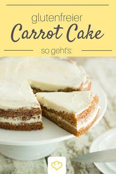An Ostern Schlemmen ohne schlechtes Gewissen: Carrot Cake mit Frischkäsefrosting - und dann auch noch glutenfrei!