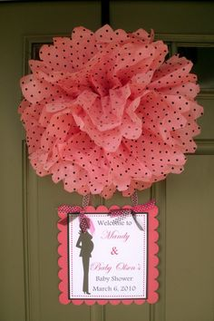 Marco para baby shower noberame creaciones pinterest for Baby shower front door decoration ideas