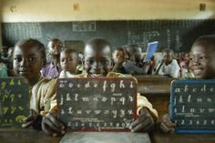 pictures of kids going to school around the world- great writing prompt on the first day of school, with a global touch.
