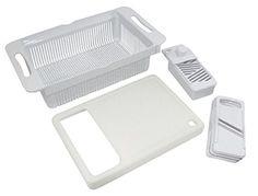 TCI Large Over-Sink Colander, Cutting Board, Slicer TCI https://smile.amazon.com/dp/B00J401JJI/ref=cm_sw_r_pi_dp_x_dRKizb8CXVD6D