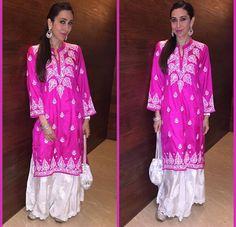 Karisma Kapur # sharara love # Pallazo love # love for Bollywood # Indian fashion