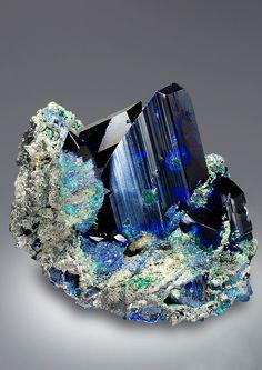 Azurite - 18000€ Tsumeb Mine, Otjikoto Region, Tsumeb, Namibia