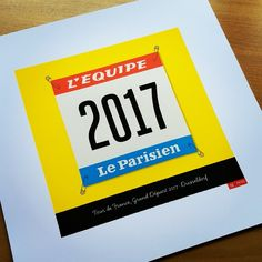 Ready for the Tour de France this weekend? Just one of the many personalised prints available from our store!