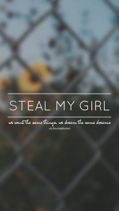 Steal My Girl // One Direction // ctto: @stylinsonphones (on Twitter)