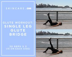 3 Glute Exercises For A Better-Looking Booty | Powered by L'Oréal