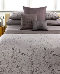 Calvin Klein Home Studio Dash Thorn Collection Bedding Collections Bed Bath Macy S Contemporary Furnishings Pinterest Studios And