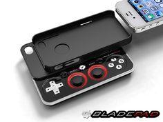 Bladepad—The Detachable iPhone Gamepad by Bladepad, LLC, via Kickstarter.