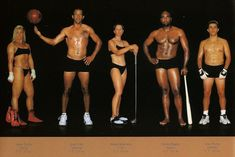 Comparing Vastly Different Body Types of Olympic Athletes...different physical features for all the different sports.