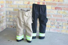 Hey, I found this really awesome Etsy listing at https://www.etsy.com/listing/163700585/firefighter-toddler-child-turnout-pants