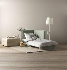 VALLENTUNA slaapmodule met rugleuning | #IKEAcatalogus #nieuw #2017 #IKEA #IKEAnl #woonkamer #slaapkamer #logeerkamer #bank #bed #woonoplossing