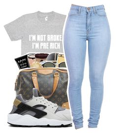 """Untitled #379"" by mindset-on-mindless ❤ liked on Polyvore featuring beauty and NIKE"