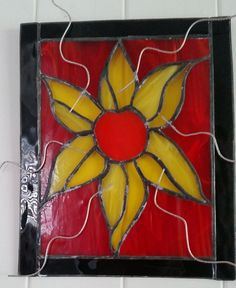 Copperfoil Sunflower Plaque