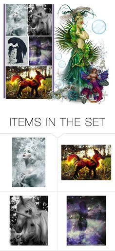 """Fantasy Creatures"" by fashionqueen76 ❤ liked on Polyvore featuring art"