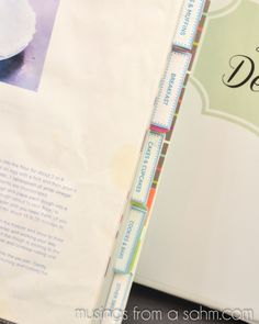 Organizing: Simple DIY Recipe Binder with Free Printables