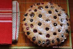 Lazy Blog: Tarta rápida de cerezas del Jerte y frutos del bosque