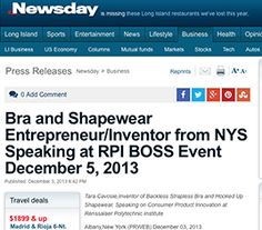 44ea0cb3a2412 HookedUp Shapewear inventor Tara Cavosie speaks on Consumer Product  Innovation at at RPI Boss Event.
