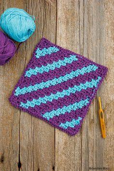 c2c crochet dishclot