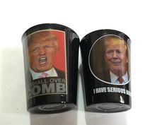 2016 US Political Presidential Election DONALD TRUMP Parody Funny Shot Glass Set