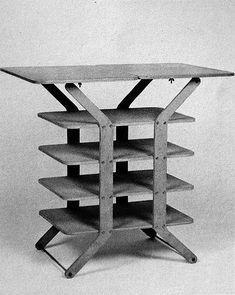 Gerrit van Bakel - Sorteerrek - masculine furniture has often the most simple but elegant function -