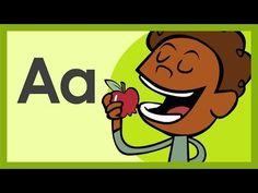 """▶ """"The Letter A Song"""" by ABCmouse.com - YouTube Alphabet Video, Alphabet Letter Crafts, Alphabet Songs, Alphabet Phonics, Preschool Songs, Preschool Literacy, Letters Kindergarten, Interactive Learning, Learning The Alphabet"""