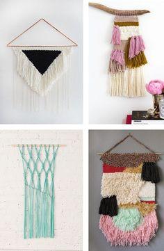 Decor Hacks :     Craft trend: DIY Woven Wall Hangings    -Read More –   - #Hacks