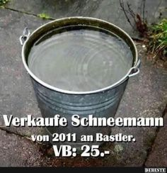 Verkaufe Schneemann von 2011 an Bastler. Facebook Humor, Good Humor, Good Jokes, Cool Pictures, Funny Pictures, Just Smile, Man Humor, Funny Pins, I Laughed
