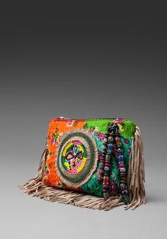 Antik Batik fringe clutch #coachillinwithwasteland #coachillin #wasteland