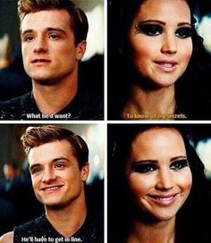 He'll have to get in line- Peeta