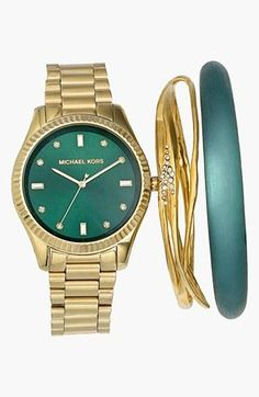 Michael Kors #emerald #coloroftheyear
