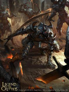 Nameless warrior brute by LASAHIDO.deviantart.com on @DeviantArt