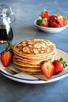 Light & Fluffy Buckwheat Pancakes