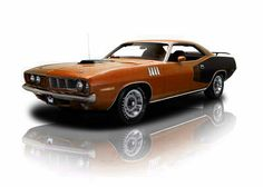 Burnt Orange 440 Cuda