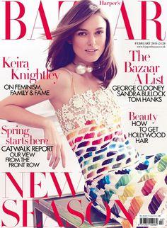 Keira Knightley, Harper's Bazaar UK (2014)