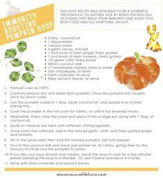 HALLOWEEN: MNB Immunity Boosting Pumpkin Soup