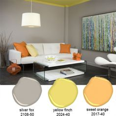 Gallery Of Bm Tranquility Master Bedroom Colors Pinterest Paint With Orange  Grey Room.