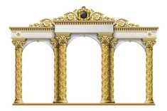 Greece Architecture, Ancient Architecture, Arcade, Palace, Portal, Pillar Design, Person Cartoon, Museum Art Gallery, Portrait Wall