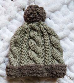Bonnet torsades 2 Baby Knitting Patterns, Loom Knitting, Knitting Projects, Knitted Hats, Knit Crochet, Kids Outfits, Winter Hats, Bonnets, Fashion