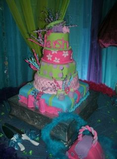 (Quinceañera) 15th birthday cake