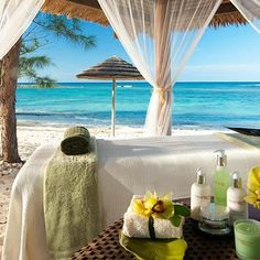 Sandals Royal Bahamian Spa Resort.  Yes please.