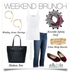 """Weekend brunch in style!"" by cathy-bartlett on Polyvore featuring Jennifer Lopez and Vince"
