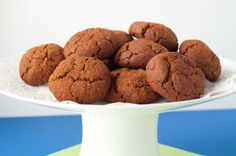 Gluten-free   Vegan Gingersnap Cookies by Healthful Pursuit