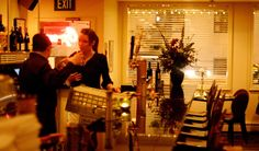Inside Sacks Cafe, Anchorage
