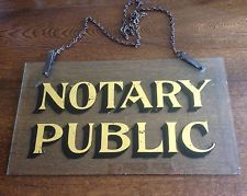 vintage notary public - Google Search
