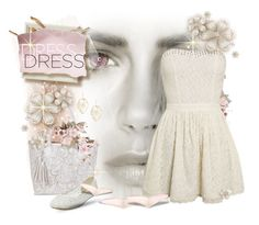 """The Little White Dress"" by falticska-cerasella on Polyvore"