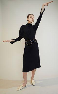 Long Sleeve Dress by MARNI for Preorder on Moda Operandi