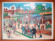 Vintage French school poster. Double sided by LeRetroMarket