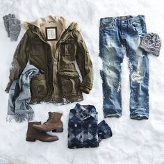 #AEOSTYLE - Now that #winter is finally here…let it snow....