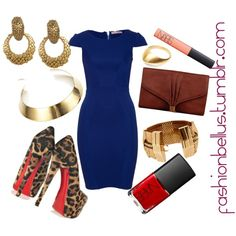 """beautiful blue."" by fashionbellus on Polyvore"