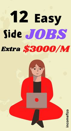 Do you want new passive income ideas, remote jobs or online jobs to earn money online? These 11 easy jobs are high paying passinve income ideas. Best jobs for moms, jobs for teens and online jobs for couples. #hiringjobs #onlinejobs #jobsformoms #easyjobs #passiveincome Earn Money From Home, Earn Money Online, Way To Make Money, Jobs For Teens, Jobs For Women, Easy Online Jobs, Easy Jobs, Best Side Jobs, Good Paying Jobs