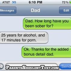 Parents Shouldn't Text